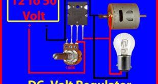 how to make voltage regulator using transistor