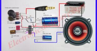 mini amplifier circuit diagram using lm380