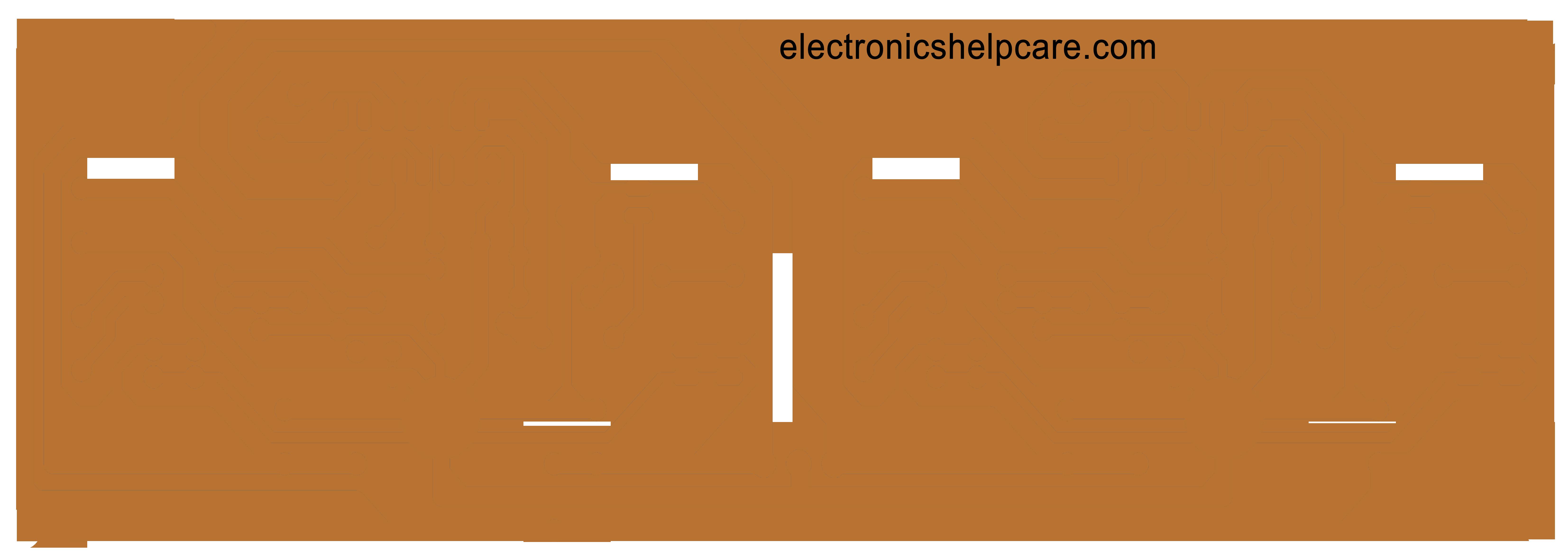 Amplifier circuit diagram TDA7294 240W Stereo