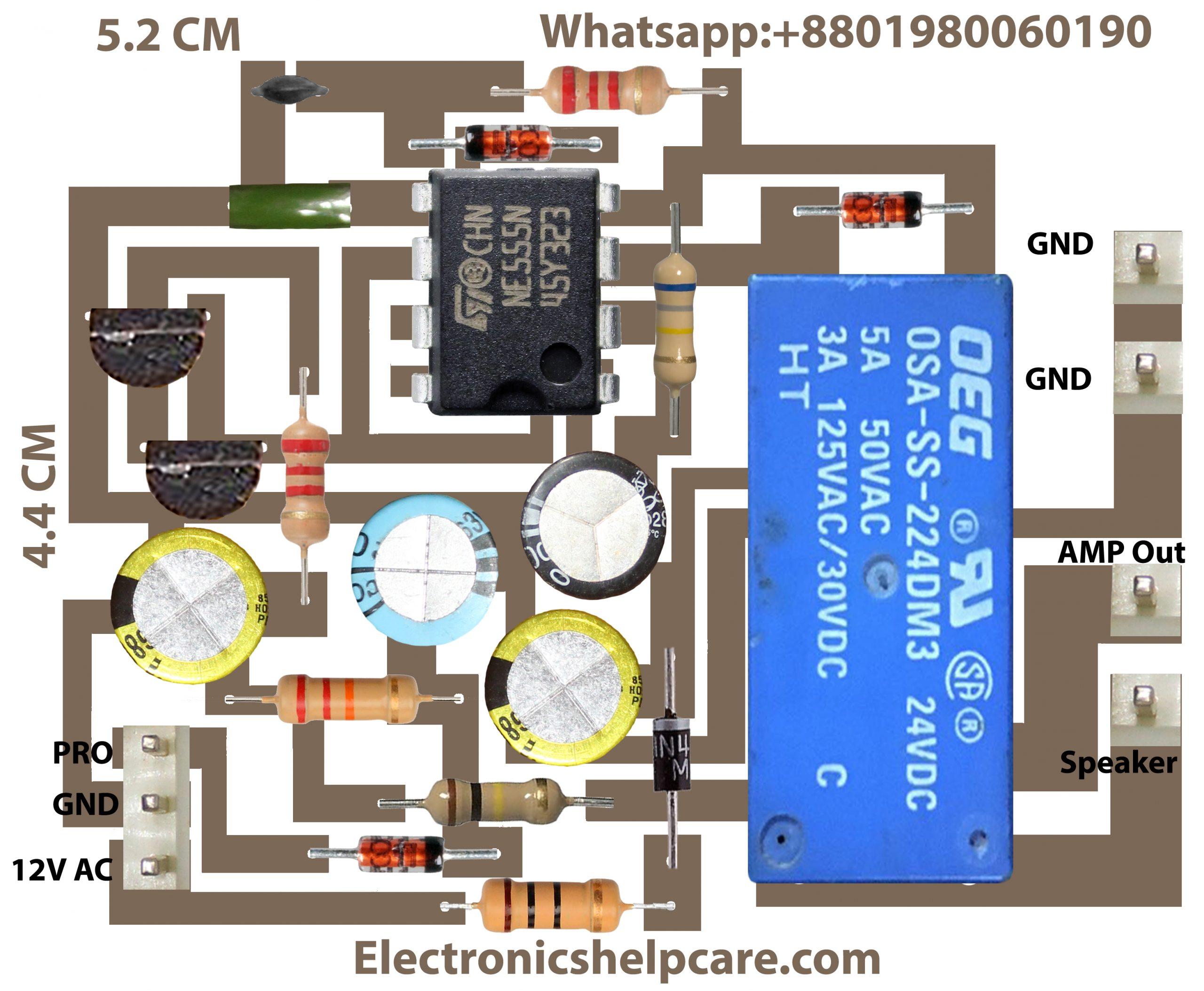 Speaker Protector NE555N