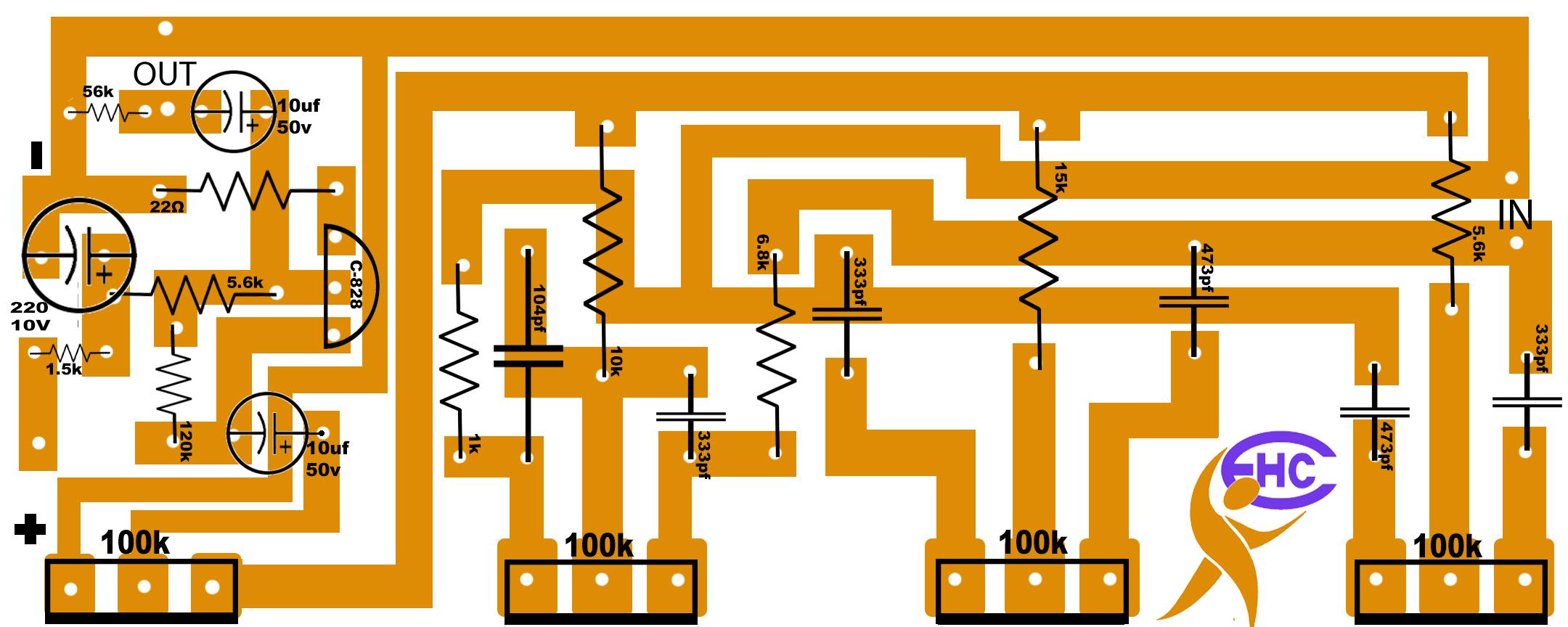 Bass tone circuit diagram