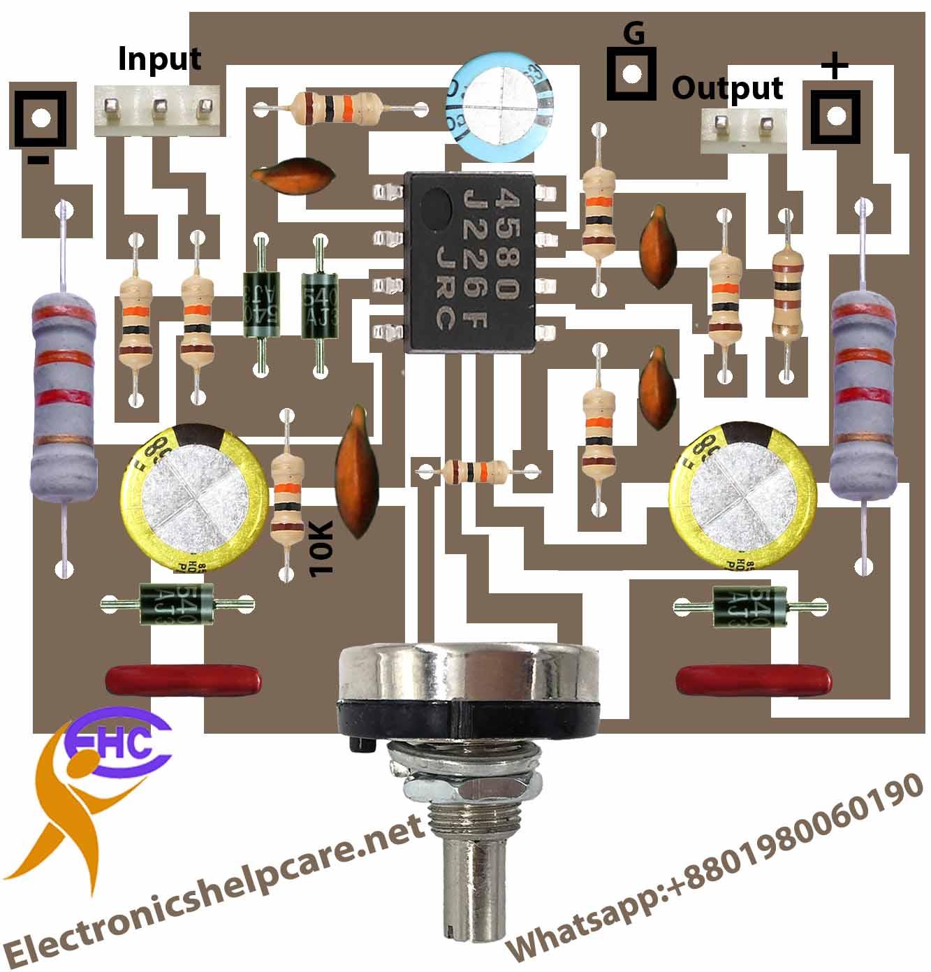 Dual low noise operational amplifier